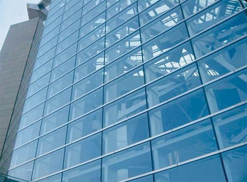 半隐框玻璃幕墙_哈尔滨盛达建筑幕墙钢结构有限公司