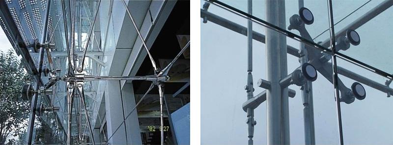 拉杆点支式玻璃幕墙_哈尔滨盛达建筑幕墙钢结构有限