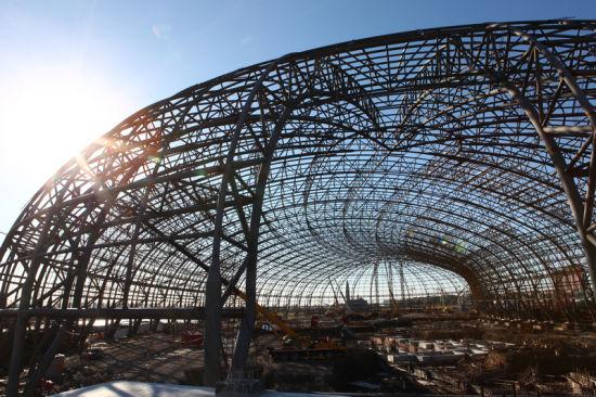 室内公园场馆钢结构_哈尔滨盛达建筑幕墙钢结构有限