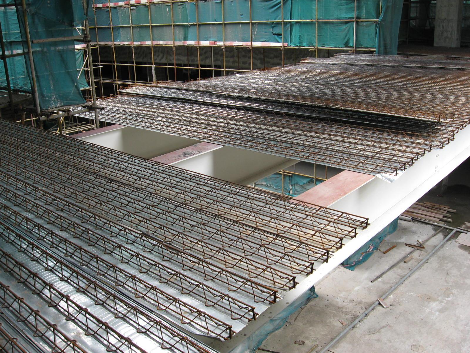 钢筋桁架楼承板_哈尔滨盛达建筑幕墙钢结构有限公司