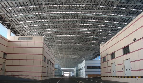 物流中心网架钢结构工程